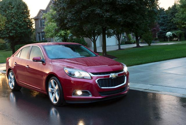 Photo of Chevrolet Malibu courtesy of General Motors.
