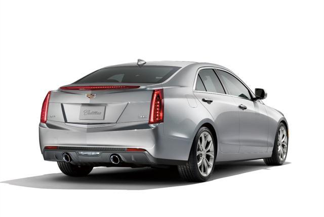 Photo of Cadillac ATS courtesy of General Motors.