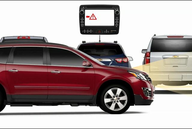 General Motors now has 19 models that offer both forward collision alert and automatic emergency braking. Photo courtesy of GM.