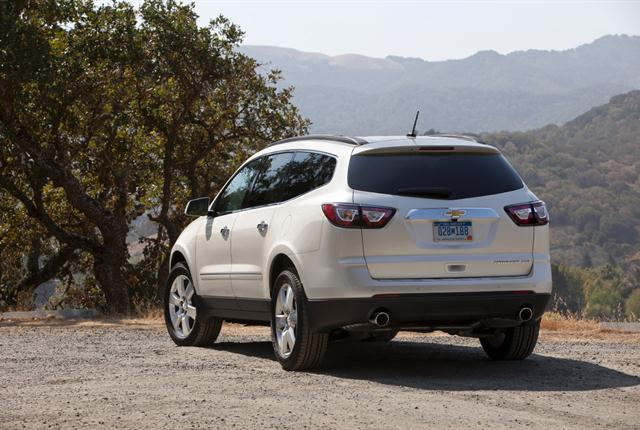 Photo of Chevrolet Traverse courtesy of General Motors.