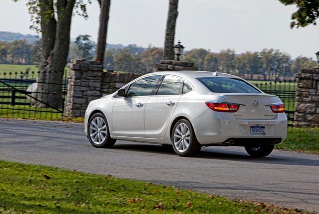 Photo of Buick Verano courtesy of GM.