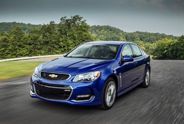 Photo of Chevrolet SS courtesy of Chevrolet.