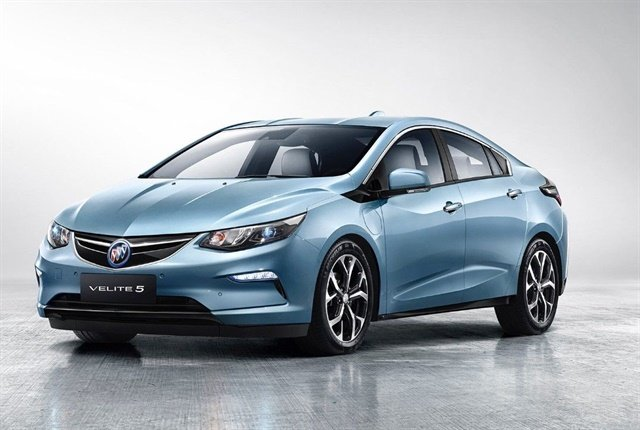 Photo of the Buick Velite 5 courtesy of GM.