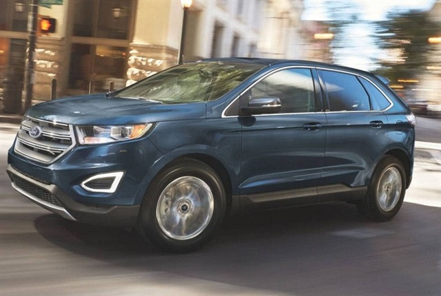 Photo of the Ford Edge, which will be dubbed the Endura in Australia, courtesy of Ford.