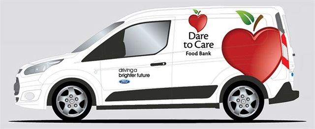 An artist's rendering of Dare to Care's Transit Connect cargo van, Photo: Ford