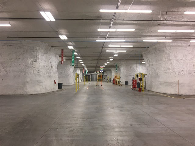 Dejana's new ship-thru facility will be located entirely underground in the Hunt Midwest Automotive Alley Subtropolis. (Photo: Dejana)