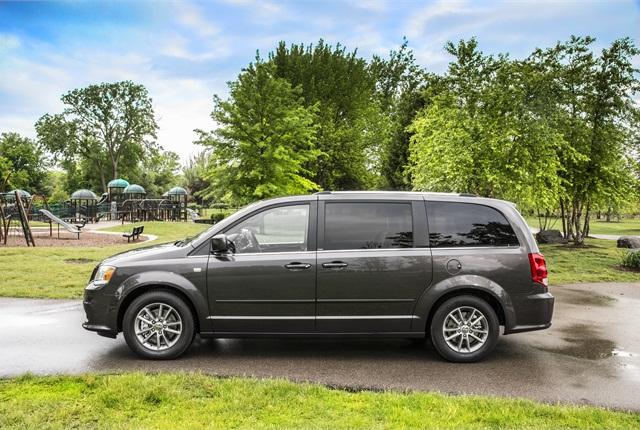 Photo of 2014 Dodge Grand Caravan courtesy of Chrysler Group.