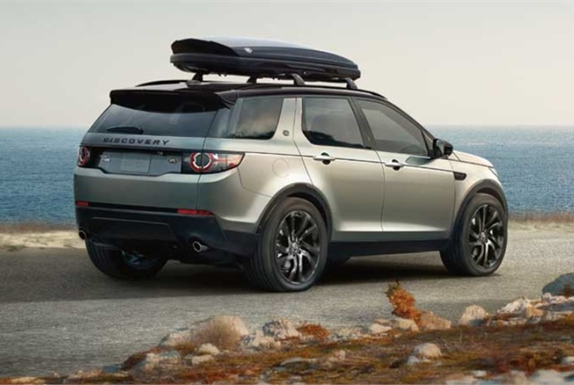 Photo of LandRover Discovery Sport courtesy of Jaguar Land Rover.