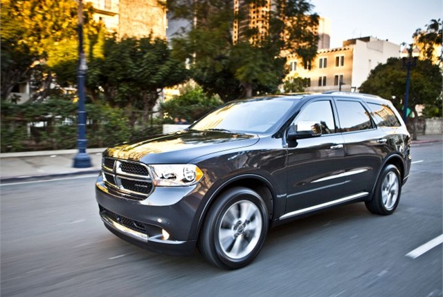Photo of 2013 Dodge Durango courtesy of Chrysler.