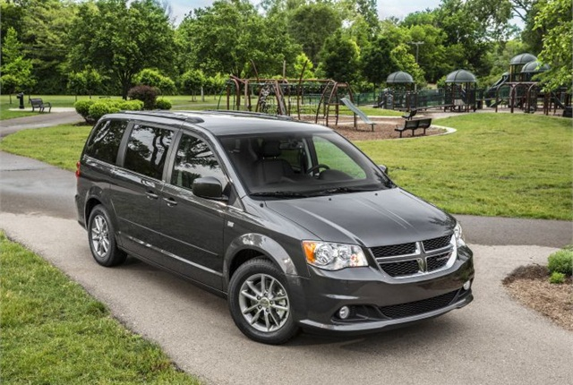 Photo of 2014 Dodge Grand Caravan courtesy of Chrysler.