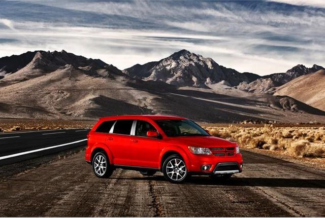 Photo of Dodge Journey courtesy of FCA.