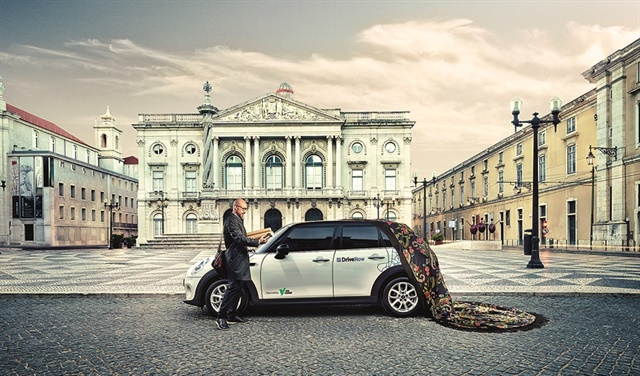 DriveNow will be officially launching its carsharing service in Lisbon on Sept. 12. Photo courtesy of DriveNow