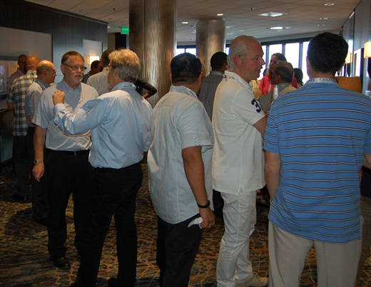 Attendees have plenty of time to network during the Global Fleet Conference, developing personal and professional contacts that resonate long after the conference ends. Photo: Chris Wolski