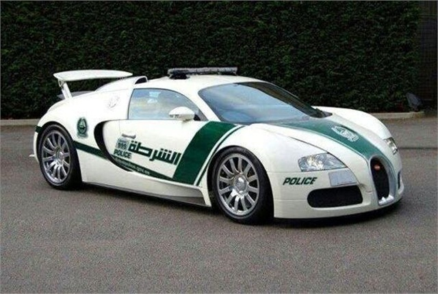 Dubai has added the Bugatti Veyron to its supercar fleet