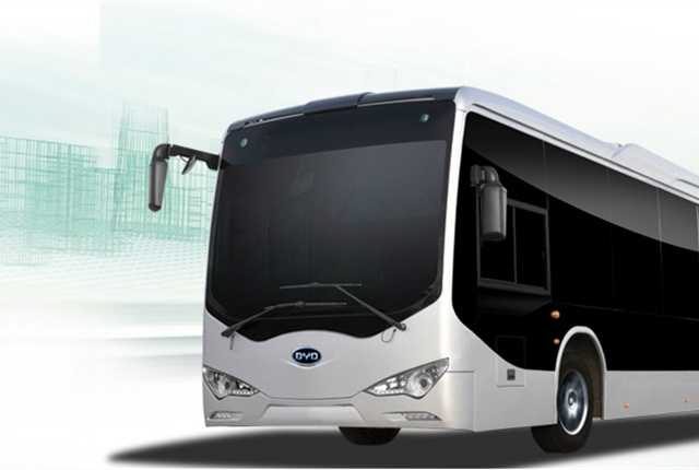 Two BYD Electric Buses will be joining SPTrans' fleet in March 2014.