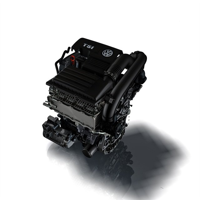 Photo of the 1.4T engine courtesy of Volkwagen.