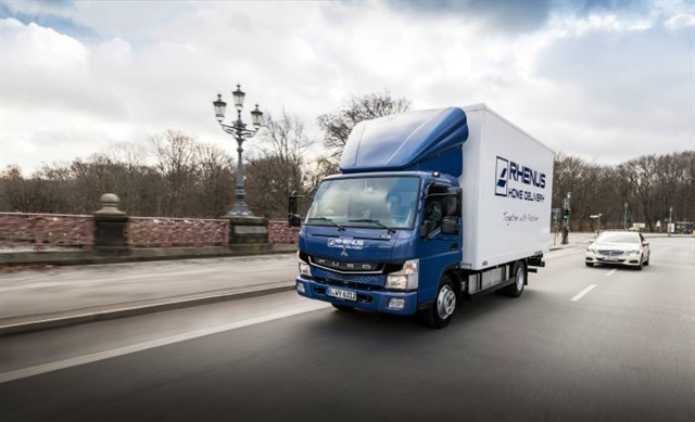 european customers now running fuso ecanter electric trucks - global