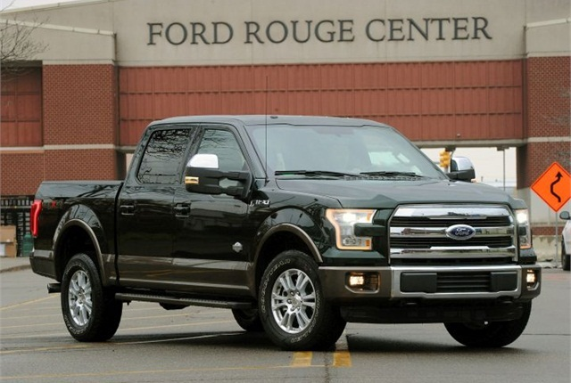 Photo of F-150 courtesy of Ford.