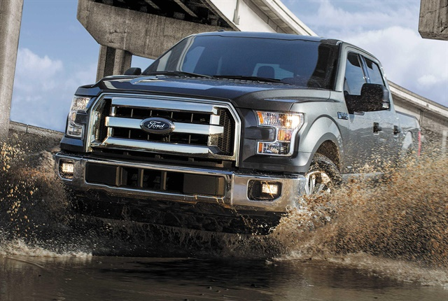 Photo of the F-150 courtesy of Ford.
