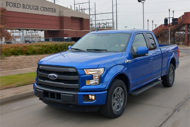 Ford has begun offering a heavy payload package on regular cab and extended cab 2015 F-150 trucks. Photo courtesy of Ford.