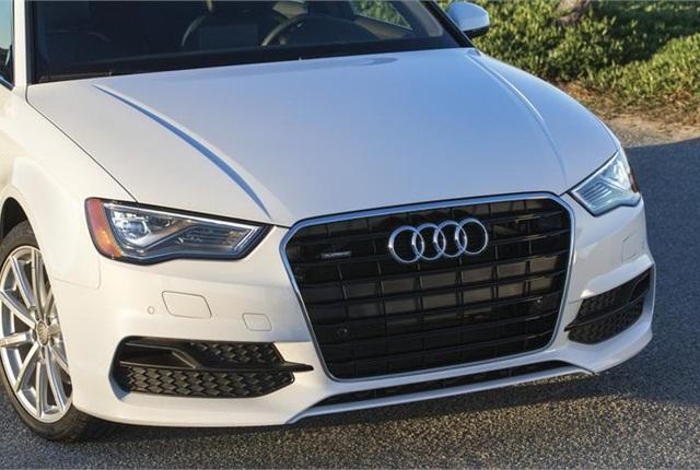 Photo of 2015 Audi A3 sedan courtesy of Audi.