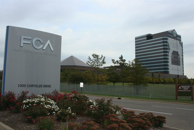 Photo of Fiat Chrysler headquarters in Auburn Hills, Mich., courtesy of FCA.