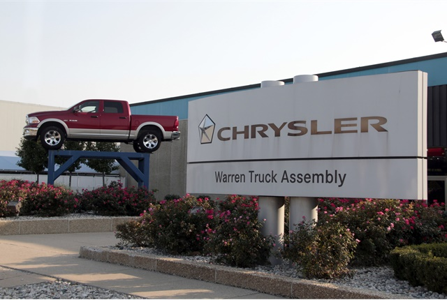 Photo of Warren Truck Assembly in Michgan that produces the Ram 1500 quad and crew cabs courtesy of FCA.