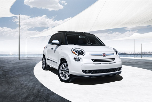 The Fiat 500L comes in four models, Pop, Easy, Trekking, and Lounge. Photo courtesy Chrysler.
