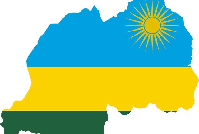 Graphic of map of Rwanda courtesy of Wikimedia Commons.