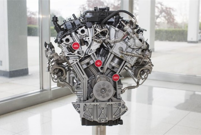 Photo of 2017 3.5L EcoBoost V-6 courtesy of Ford.
