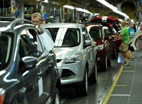 Ford will shorten its summer shutdown from the traditional two-week summer shutdown to one week for a majority of North American assembly plants, increasing production by close to 40,000 units. (PHOTO: Business Wire).