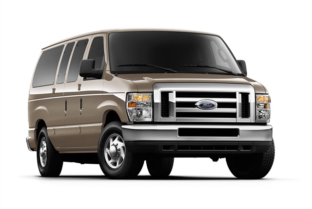 Photo of Ford E-Series van courtesy of Ford Motor Co.