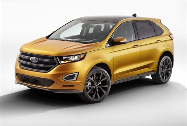 Photo of 2015 Edge courtesy of Ford.