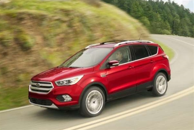 Photo of the 2018 Escape courtesy of Ford.