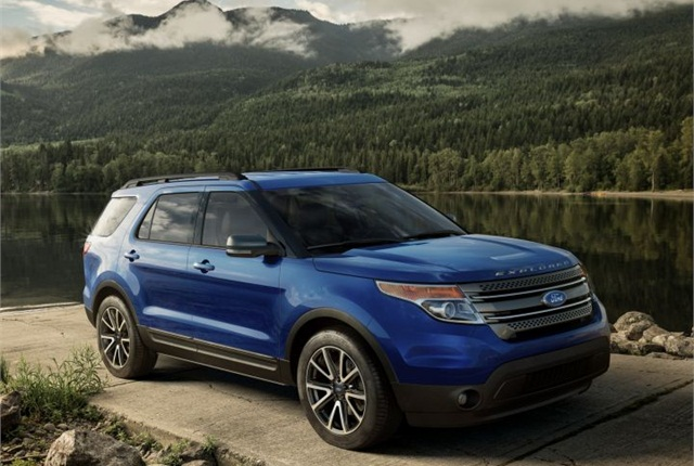 Photo of 2015 Explorer courtesy of Ford.