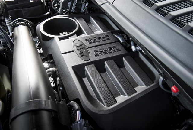 Photo of 3.0L Power Stroke turbo-diesel V-6 courtesy of Ford.