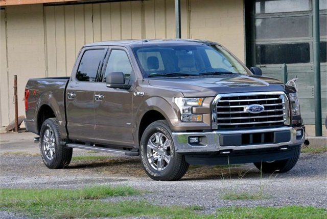 Photo of 2015 F-150 courtesy of Ford.