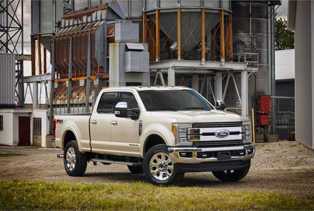 Photo of 2017 F-350 courtesy of Ford.