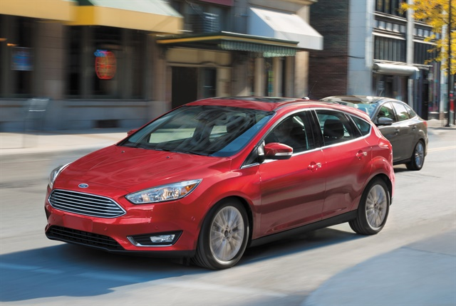 Photo of 2016 Focus Titanium courtesy of Ford.