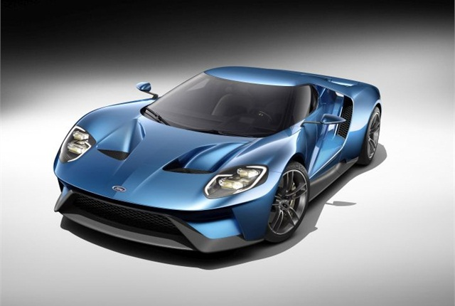 Photo of Ford GT courtesy of Ford.
