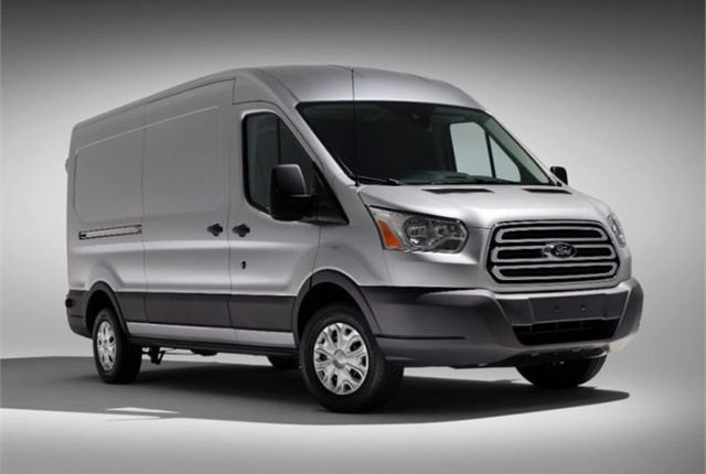Photo of 2015 Transit courtesy of Ford.