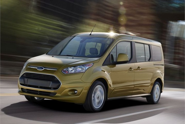 Photo of 2014 Transit Connect Wagon courtesy of Ford.