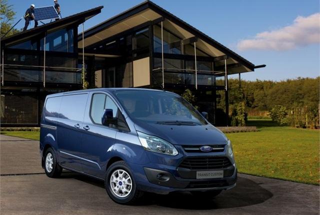 Photo of Transit Custom courtesy of Ford.