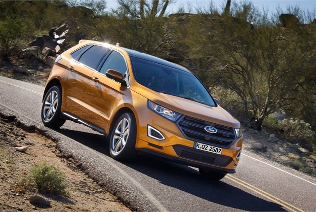 Photo of Ford Edge courtesy of Ford.