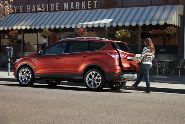 Ford Escape photo courtesy of Ford.