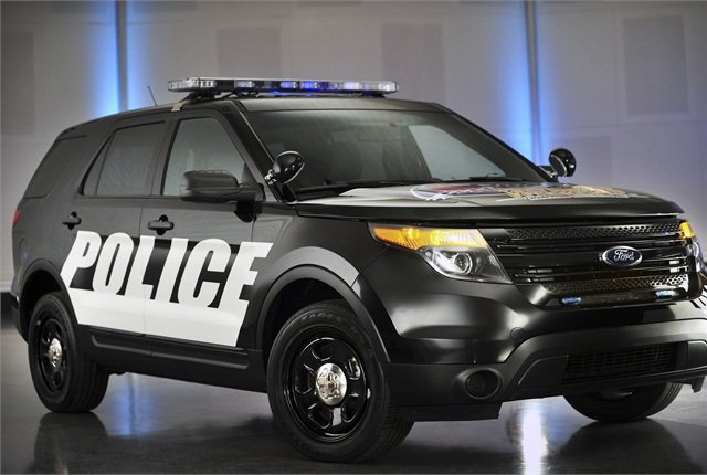 Photo of Ford Police Interceptor Utility vehicle courtesy of Ford.