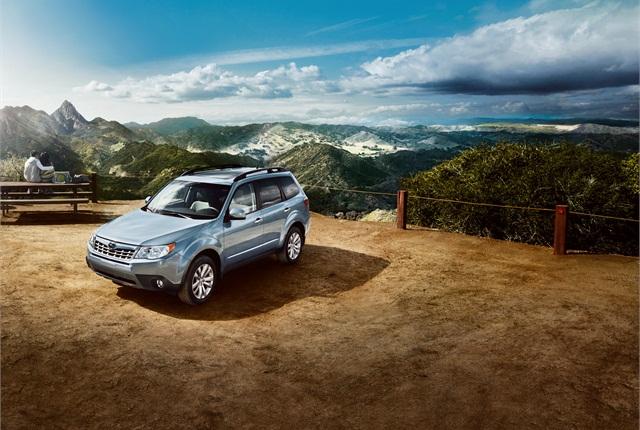 Photo of Subaru Forester courtesy of Subaru.