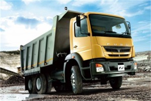 The Fuso FJ model was recently introduced to Zimbabwe. Photo: MFTBC