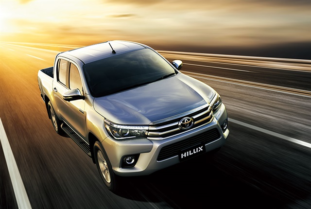 Photo of the Toyota Hilux courtesy of Toyota.