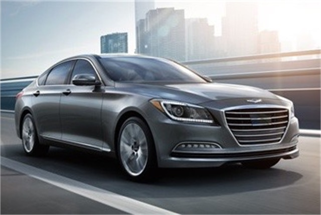 Imageof Hyundai Genesis courtesy of Hyundai.